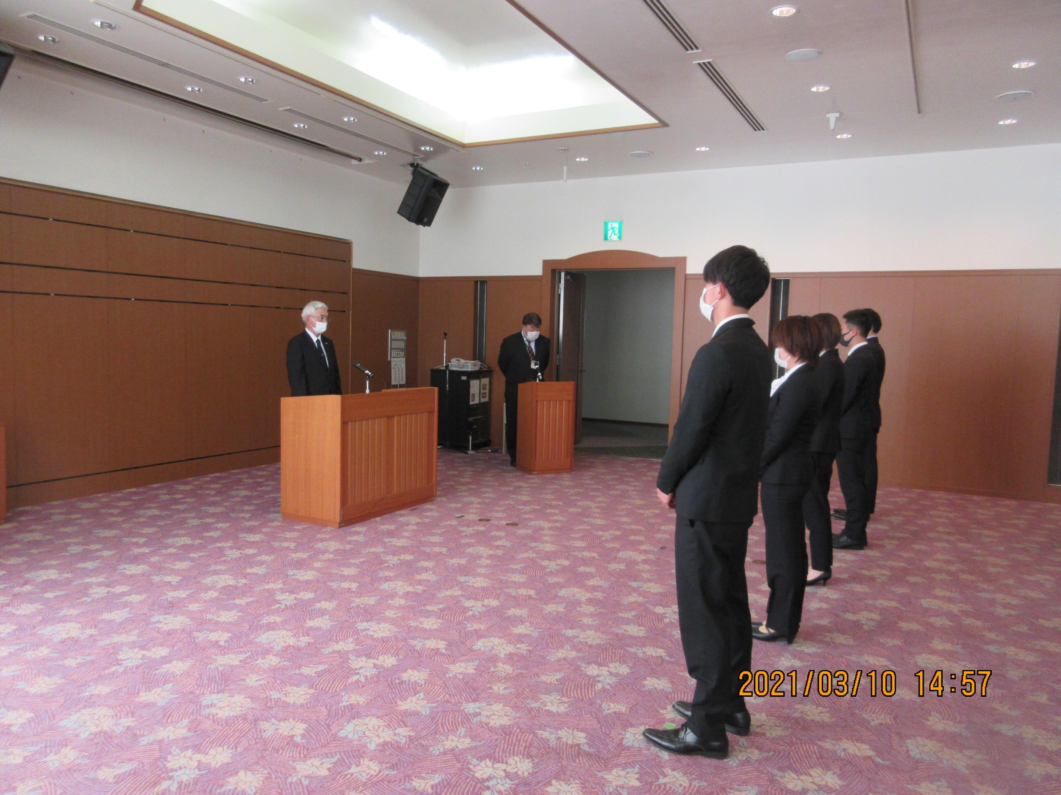 令和2年度広島大学副学長表彰式を行いました