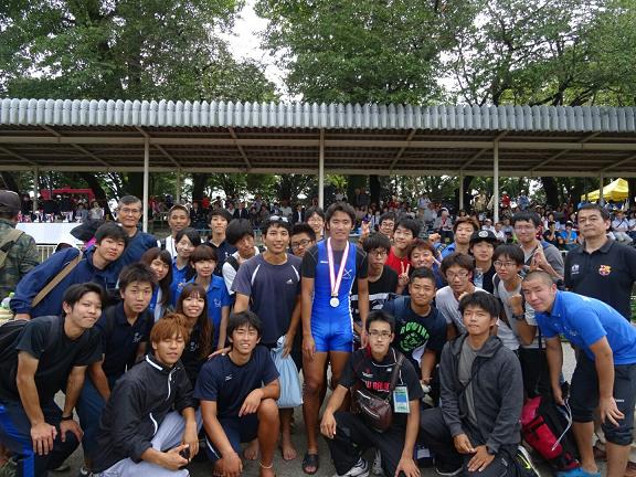 全日本大学選手権大会男子シングルスカル準優勝!【体育会漕艇部】