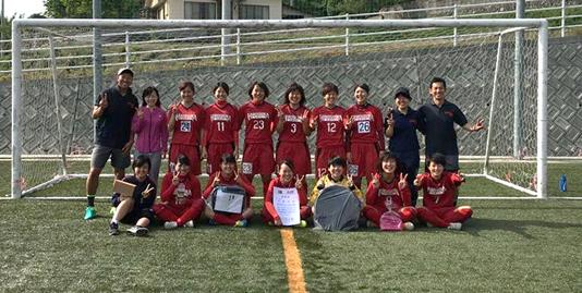 広島大学体育会女子サッカー部が第27回もみじレディースサッカー大会で2年連続優勝!